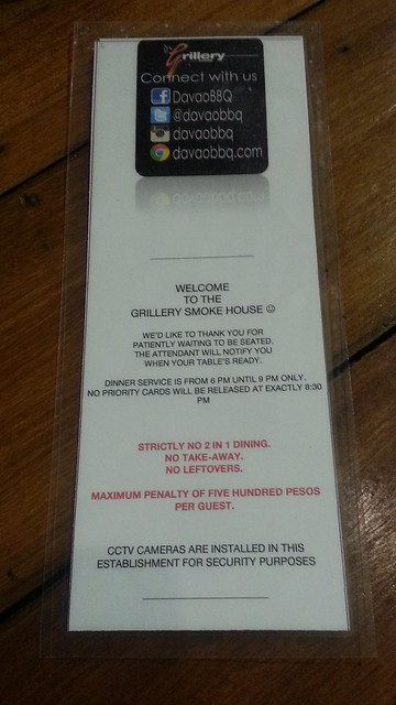 Grill All Meat You Can Eat at The Grillery Smoke House in Backyard Burgers Ecoland - Davao Food Trips 20150419_194252