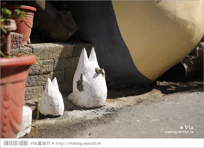 【大里龍貓】台中大里龍貓公車站《喬城站》~可愛的立體龍貓超吸睛!拍照去~9
