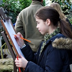 Girl (A), Princess of Wales Conservatory, Kew Gardens @ 21 February 2015