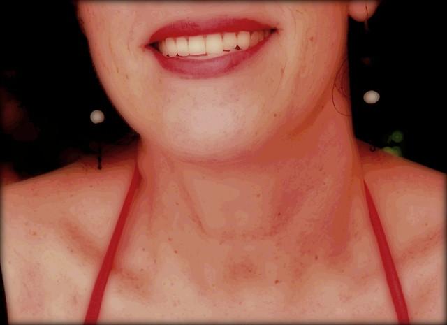 The Beatrix half-smile