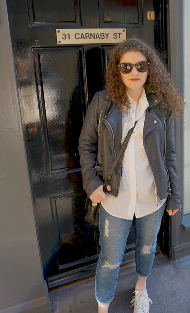 Topshop Jeans and Leather Jacket