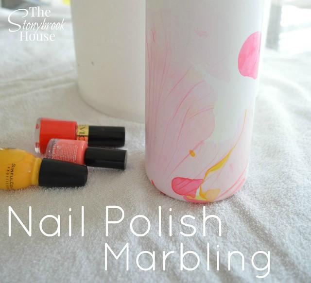 Nail Polish Marbling2