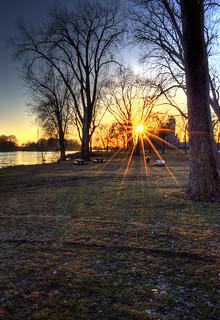 Ending Day Sunburst