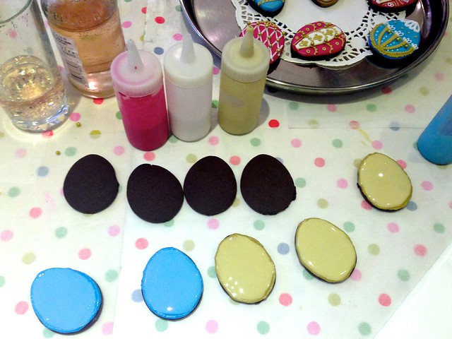 Easter Icing Class with Biscuiteers