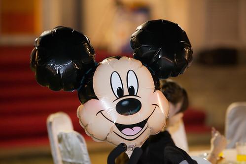 推薦婚宴場地:台南商務會館,米老鼠米奇的特殊結婚婚禮風格 (8)