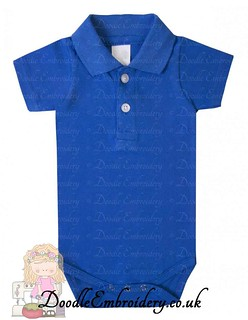 Polo Body Suit - Royal Blue copy