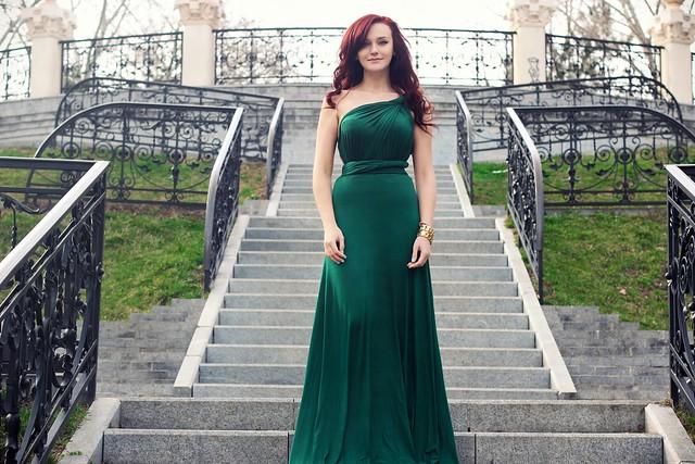 green maxi dress1