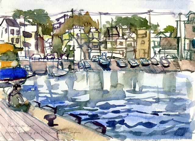 Misaki fishing port 0330