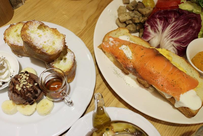 【台北咖啡館】佐曼咖啡館*早午餐*好吃的法式歐蕾吐司*下午茶~近捷運中山站
