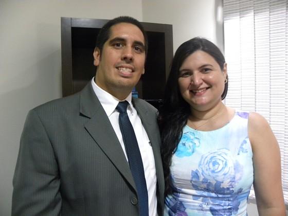 Priscila e Edmar Machado