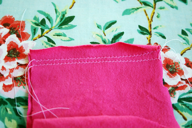 zigzag stitch seam