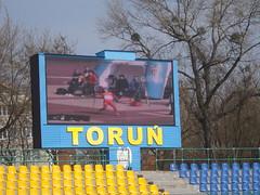 Marcador del estadio de Torun 2015