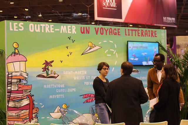 Les outre-mers - Salon du Livre de Paris 2015