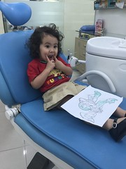 Sarah at dentist office