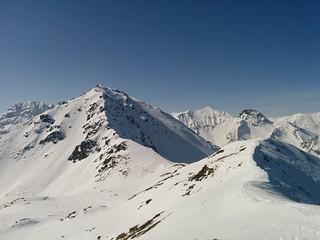 Herrlicher Ausblick vom Gipfel der Öfenspitze