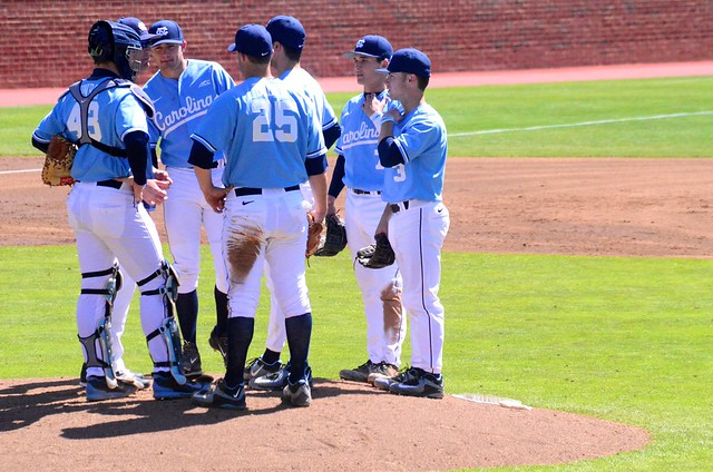 college baseball: miami @ unc