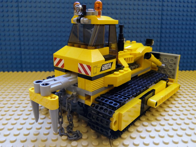 LEGO City Demolition 60074 - Bulldozer