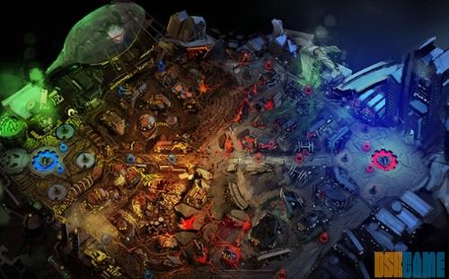 Infinite Crisis - Mapa clásico