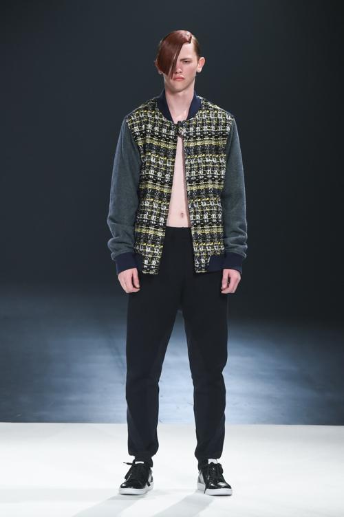 FW15 Tokyo yoshio kubo003_Robbie McKinnon(Fashion Press)