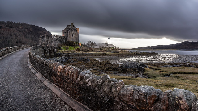 Eilean Donan castle, Dornie, Scotland, United Kingdom