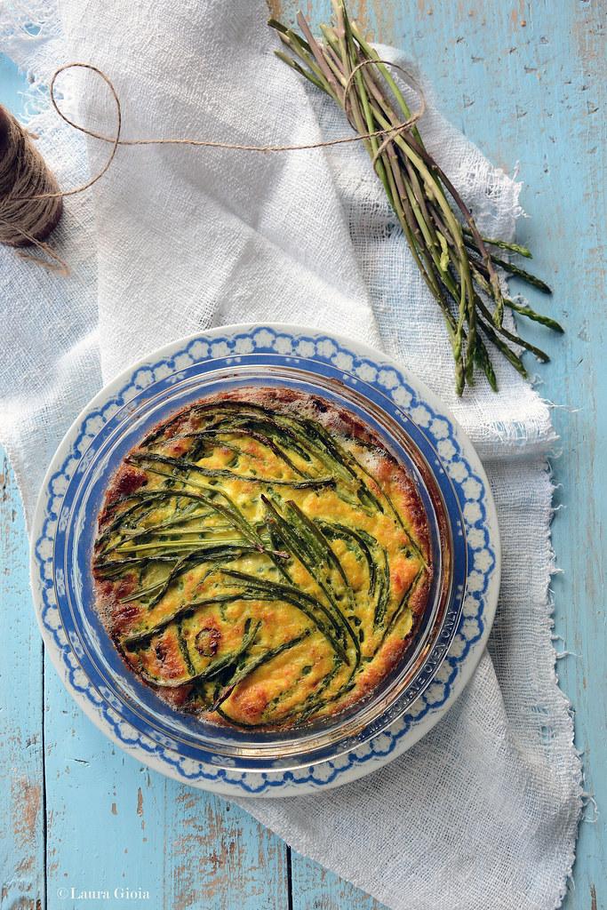 Clafoutis d'asparagi