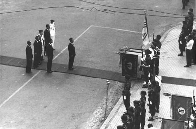1971 - President Thieu's 2nd term inauguration