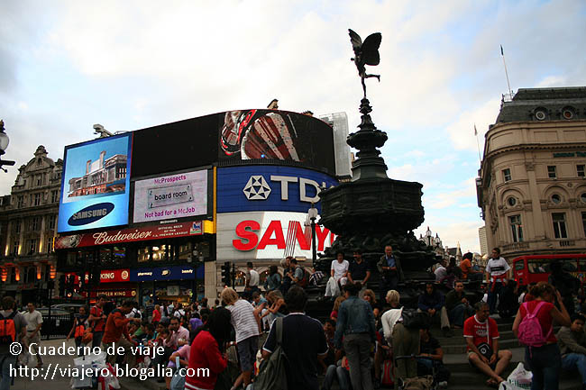 Piccadilly Circus. © Paco Bellido, 2006