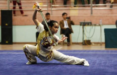 Hà Nội nhất toàn đoàn Vô địch Wushu toàn quốc