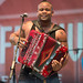 Dwayne Dopsie and the Zydeco Hellraisers, Festival International, April 22, 2015
