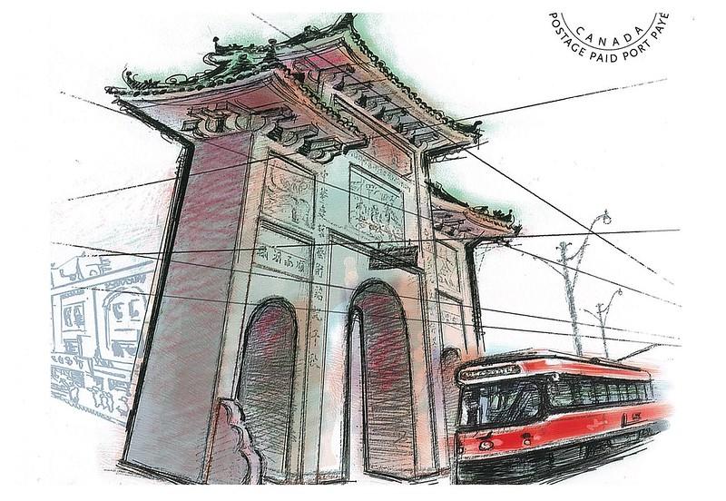 Canada - chinatown gate - Toronto