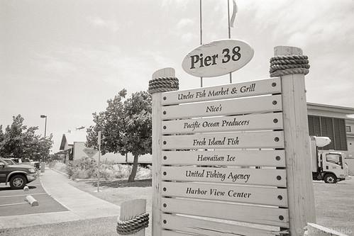 signboard, Pier 38