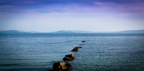 ireland sea summer seascape salthill atlanticocean galwaybay salthillpromenade clarehills
