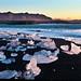 Morning, Jökulsárlón Black Beach, Iceland