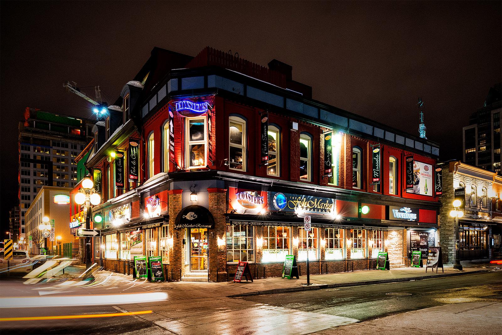Restaurants Downtown Ottawa Canada