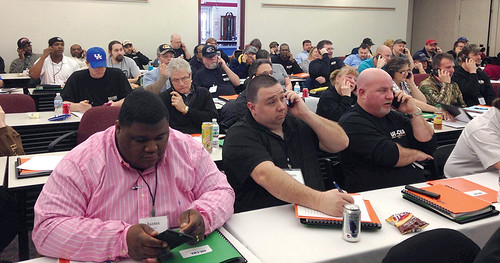 IUE-CWAers in Dayton, OH, call their members of Congress and urge them to reject Fast Track Authority for the TPP.