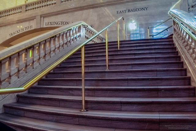 Stairs at Grand Central Terminal