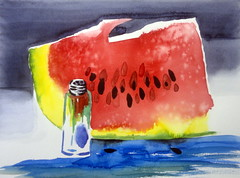 Watermelon slice, by Luciana - DSC09168