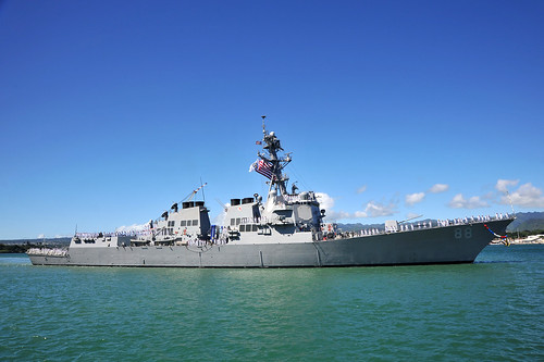 USS Preble to depart on Western Pacific Deployment