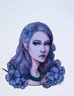 Серия портретов - пророк Нора