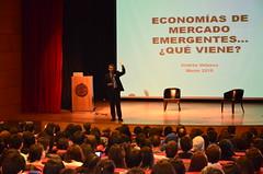 Andrés Velasco inició la clase magistral de la FACEA