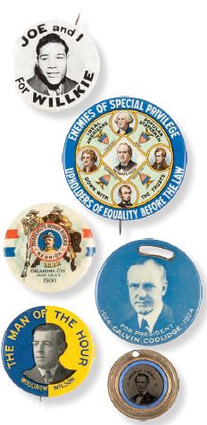 Political items from Halperin collection