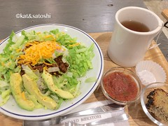 taco rice @ standard bookstore abeno