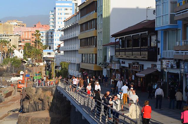 The San Telmo Promenade, Puerto de la Cruz, Tenerife