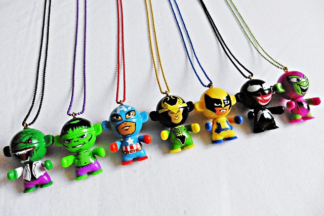 Marvel Kawaii Chibi Figure Necklace