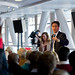 Ed Miliband taking questions in Cardiff