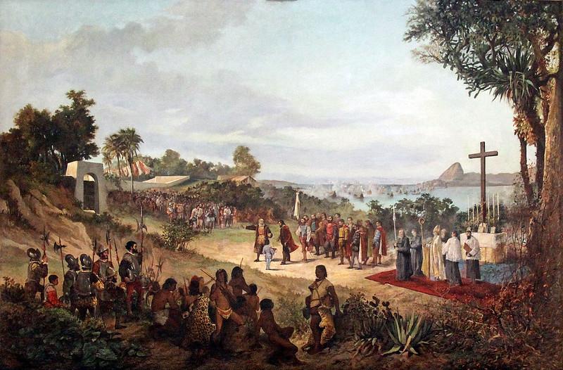 Founding of Rio de Janeiro, by Firmino Monteiro