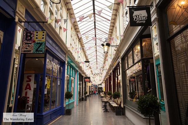 Inside Hight Street Arcade