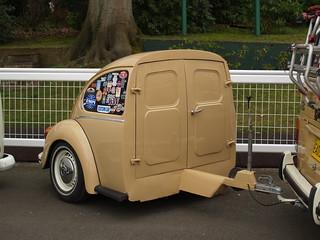 half a Volkswagen Beetle trailer