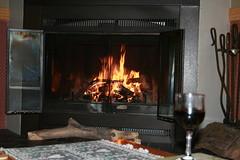 À la chaleur du foyer, au Champayeur.