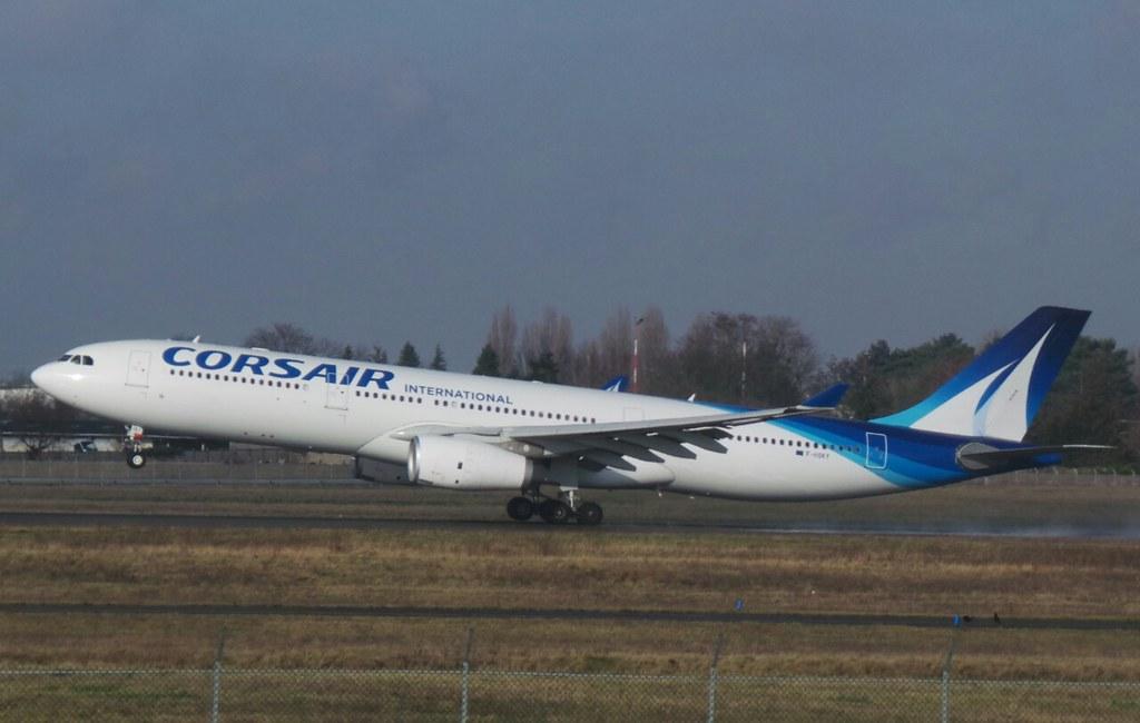 F-HSKY - A333 - Corsair